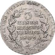 ⅓ thaler - Friedrich Wilhelm III – revers