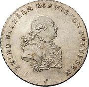 ⅓ reichsthaler - Friedrich Wilhelm II – avers