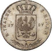 ⅓ reichsthaler - Friedrich Wilhelm II – revers