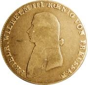 ⅓ reichsthaler - Friedrich Wilhelm III – avers