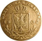 ⅓ reichsthaler - Friedrich Wilhelm III – revers