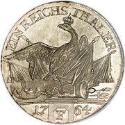 1 reichsthaler - Friedrich II – revers