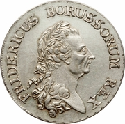 1 reichsthaler - Friedrich II – avers