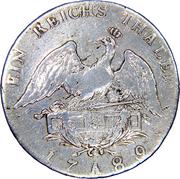 1 reichsthaler - Friedrich Wilhelm II – revers