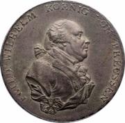 1 thaler - Friedrich Wilhelm II – avers