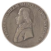 1 thaler - Friedrich Wilhelm III – avers