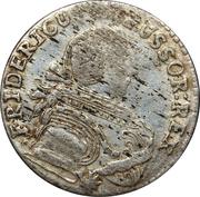 6 gröscher - Friedrich II -  avers