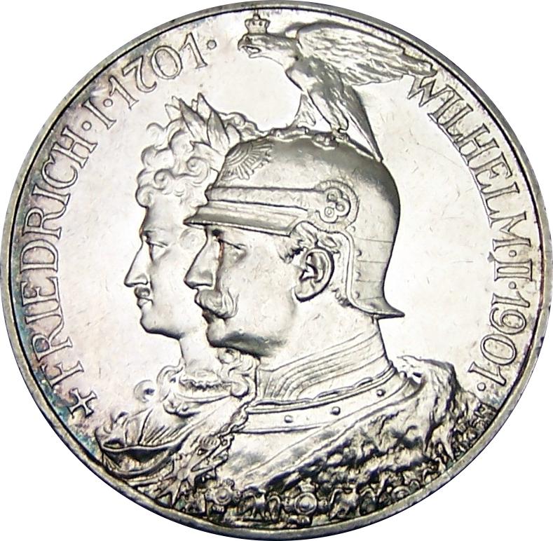 5 Mark Wilhelm Ii Royaume De Prusse Royaume De Prusse Numista