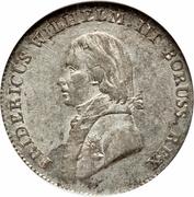 4 groschen - Friedrich Wilhelm III – avers