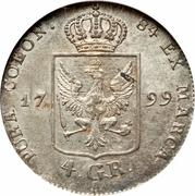 4 groschen - Friedrich Wilhelm III – revers