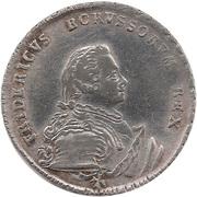 ¼ reichsthaler - Friedrich II – avers
