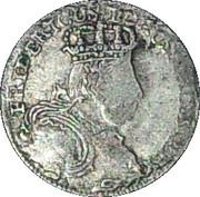 6 gröscher - Friedrich II – avers