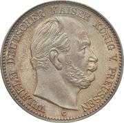 2 Mark - Wilhelm I – avers