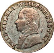 3 groschen - Friedrich Wilhem III – avers