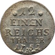 1/12 reichsthaler - Friedrich II – revers