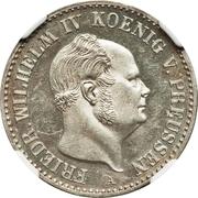 ⅙ thaler - Friedrich Wilhelm IV – avers