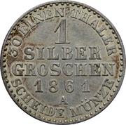 1 silbergroschen - Wilhelm I – revers