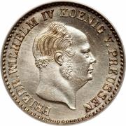 2½ silber groschen - Friedrich Wilhelm IV – avers