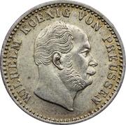 2½ silbergroschen - Wilhelm I -  avers