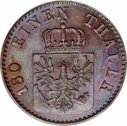 2 pfenninge - Friedrich Wilhelm IV -  avers