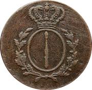 2 pfennig - Friedrich Wilhelm III – avers