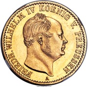 1 Krone - Friedrich Wilhelm IV – avers