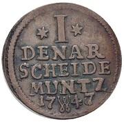 1 Denar - Friedrich II – revers