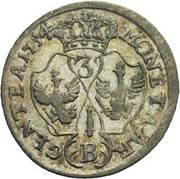 3 kreuzer - Friedrich II – revers
