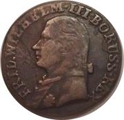 3 groschen - Friedrich Wilhelm III – avers