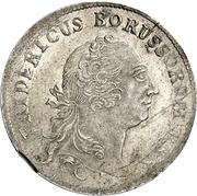 12 mariengroschen - Friedrich II – avers