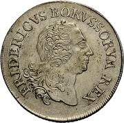 8 gute groschen - Friedrich II – avers