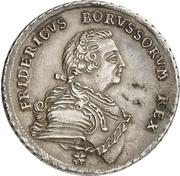 1/2 thaler - Friedrich II – avers