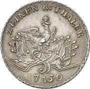 1/2 thaler - Friedrich II – revers