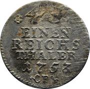 1/48 thaler - Friedrich II – revers