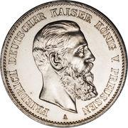2 Mark - Friedrich III – avers