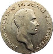 1 reichsthaler - Friedrich Wilhelm III – avers