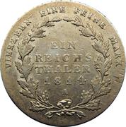 1 reichsthaler - Friedrich Wilhelm III – revers