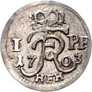 1 pfennig - Friedrich I -  avers
