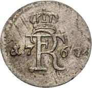 3 pfennig - Friedrich II – avers