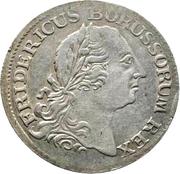 ⅙ reichsthaler - Friedrich II (portrait ancien) – avers