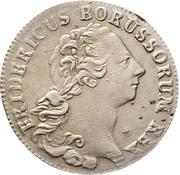 ⅙ reichsthaler - Friedrich II (portrait berlinois) – avers