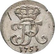 1/24 thaler - Friedrich II – avers
