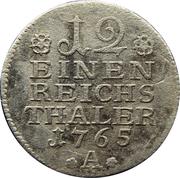 1/12 thaler - Friedrich II – revers