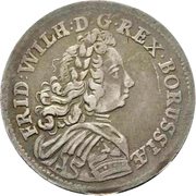 1/12 thaler - Friedrich Wilhelm I – avers
