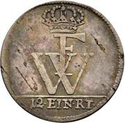 1/12 thaler - Friedrich Wilhelm I – revers