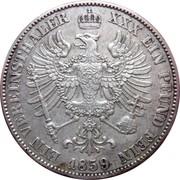 1 vereinsthaler - Friedrich Wilhelm IV – revers