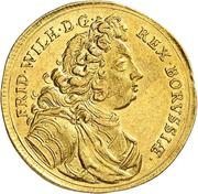 1 ducat Friedrich Wilhelm I – avers