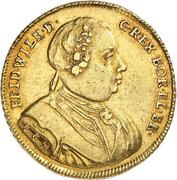 1 wilhelms d'or Friedrich Wilhelm I – avers