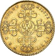 1 wilhelms d'or Friedrich Wilhelm I – revers