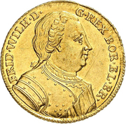 1 Ducat - Friedrich Wilhelm I – avers